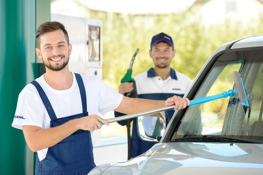 Rifornimento Benzina COIL con servizio