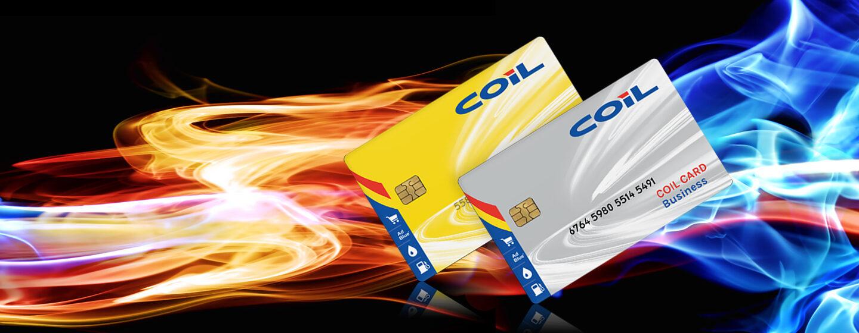 Coil Carte Carburante